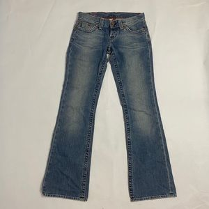 Vintage Used Lucky Blue Denim Jeans style Zoe Straight 427